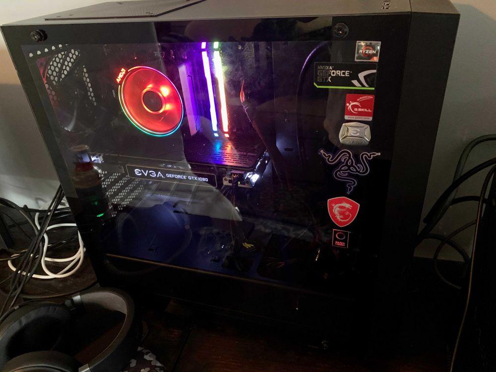 2600x Gtx 1080 Gaming Build W Wraith Prism